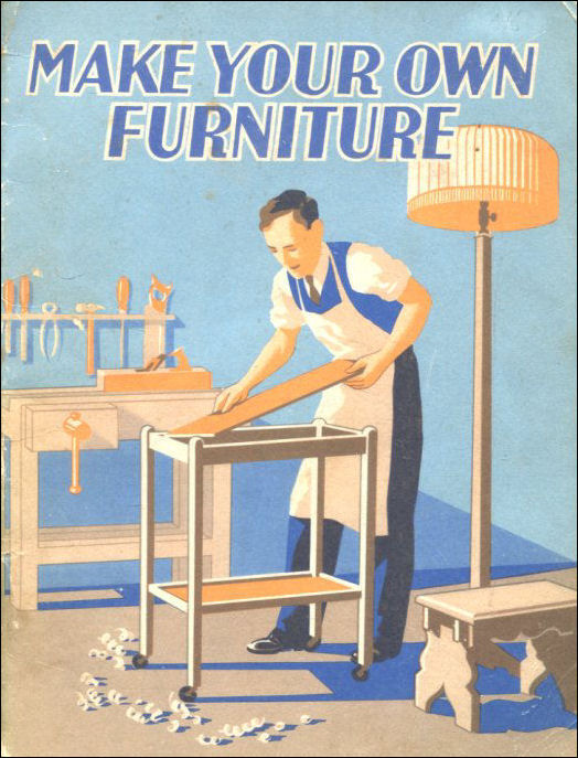 Make Your Own Furniture Using The Tools Getting The Wood Cutting The Joints Designs For The