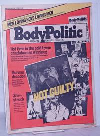 image of The Body Politic: a magazine for gay liberation; #51, March 1979: Not Guilty
