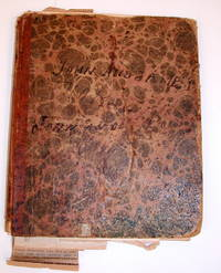 Manuscript  Notebook of John and James Thomson [ New York  ]