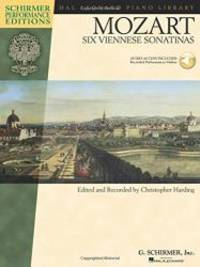 Mozart - Six Viennese Sonatinas: Piano With a CD of Performances Book/CD (Hal Leonard Piano Library)