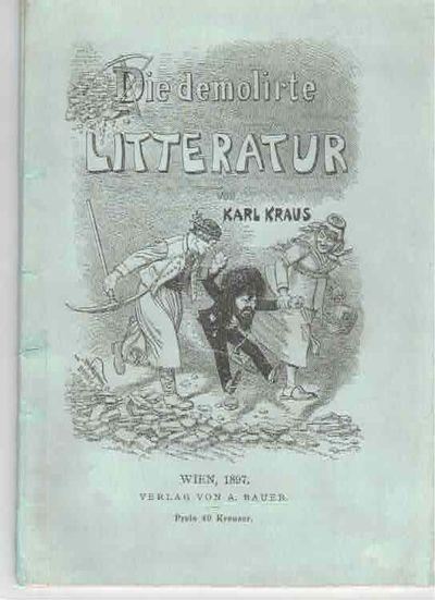 Die demolierte Literatur