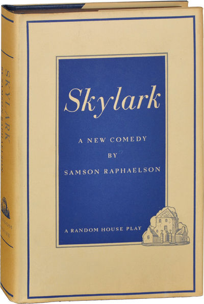 New York: Random House, 1939. First Edition. First Edition. Basis for the 1941 screwball comedy star...