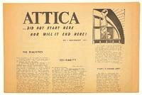 image of Attica... did not start here nor will it end here! No. 1 (November 1971)