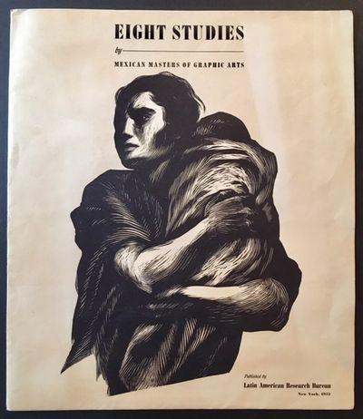 New York: Latin American Research Bureau, 1952. Near Fine. Lovely 1952 portfolio of 8 large-scale Me...