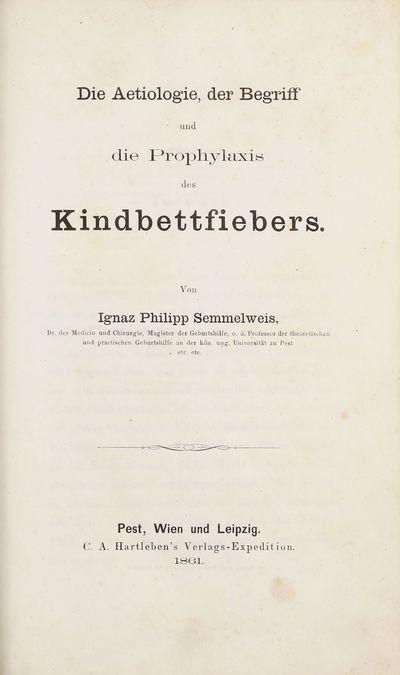 Die Aetiologie, der Begriff und die...