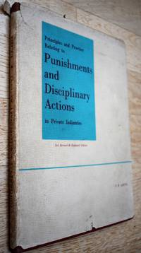 Principles and Practice Relating to Punishments and Disciplinary Actions in Private Industries