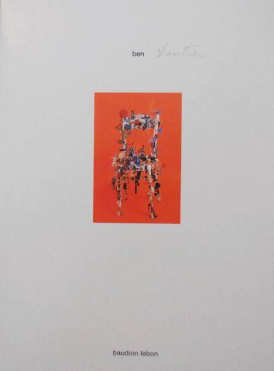 Paris: Baudoin Lebon, 1989. First edition. Paperback. Fine. Folded art exhibition announcement card ...