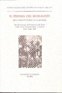 Il prisma dei moralisti. Per il tricentenario di La Bruyère