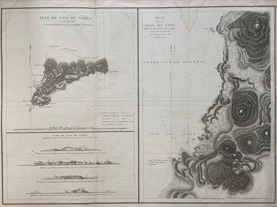 Paris: L'Imprimerie de la Republique, 1797. Map. Engraving with hand coloring. Sheet measures 21 1/4...