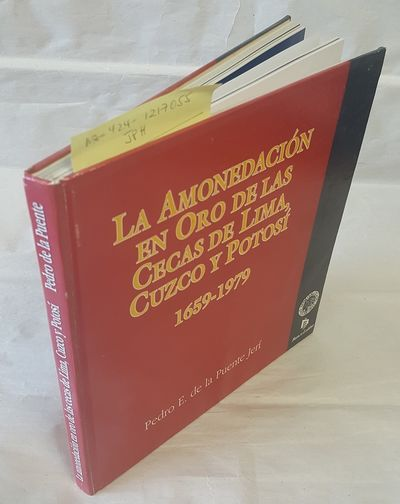 Lima: Sociedad Numismatica del Peru, 1994. First edition;. Square octavo hardcover; in SPANISH; VG+ ...