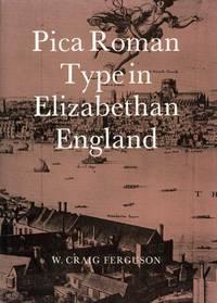Pica Roman Type in Elizabethan England