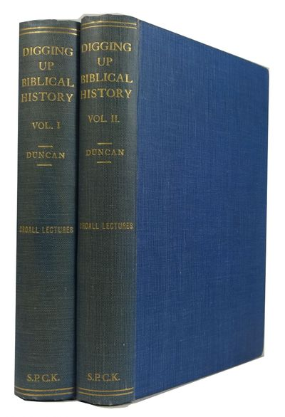 London: Society for Promoting Christian Knowledge, 1931. 1st ed. Hardcover. Very Good. 2 vols. front...
