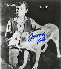 Signed Tommy Kirk Portrait with Old Yeller with Yeller