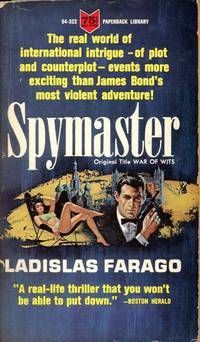 SPYMASTER [Original Title: WAR OF WITS] : (PaperBack Library, 54-322)