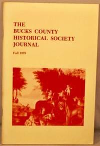 image of Bucks County Historical Society Journal, Fall 1979.