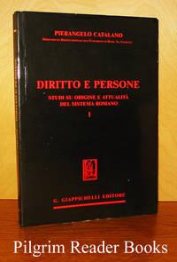 Diritto e Persone: Studi su Origine e Attualità del Sistema Romano, I.