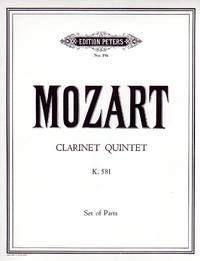 Clarinet Quintet, K.581 [COMPLETE SET of FIVE PARTS]