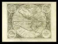 America sive India Nova ad magnae Gerardi Mercatoris aui Vniversalis imitationem in compendium redacta