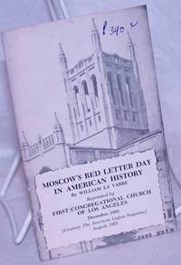 image of Moscow's Red Letter Day in American History