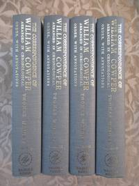 The Correspondence of William Cowper Arranged in Chronological Order, With Annotations - 4 Volumes   [Volumes I, II, III, & IV] by  William / Thomas Wright Cowper - Hardcover - 1969 - from Monroe Bridge Books, SNEAB Member (SKU: 007682)