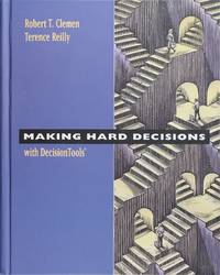 image of Making Hard Decisions with Decision Tools Suite Update 2004 Edition