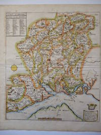 image of A Mapp of Hantshire ... [ HAMPSHIRE ]