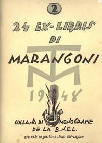 24 ex-libris di Marangoni. 1948. Collana di monografie della \