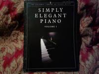 SIMPLY ELEGANT PIANO VOLUME 1