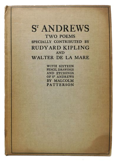 London: A & C Black, 1926. 1st edition. Printed boards. VG (darkened edges & spine with light soil m...