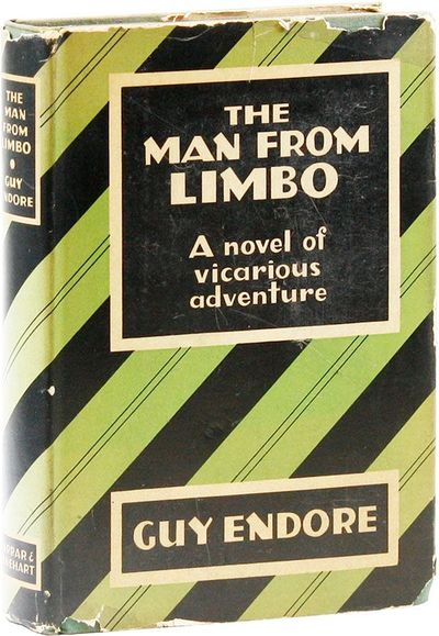 New York: Farrar & Rinehart, 1930. First Edition. Octavo (20cm). Blue-green cloth, lettered in navy ...