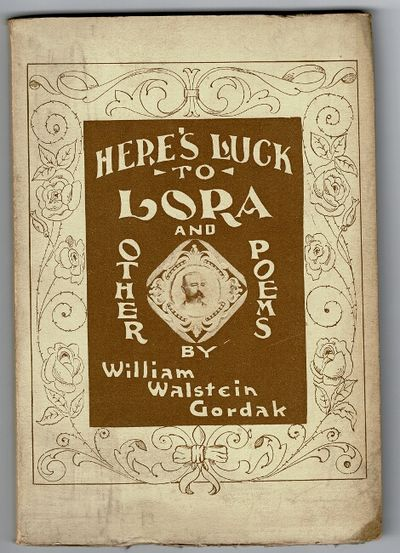 New York: Benj. R. Tucker, 1906. First edition, 8vo, pp. 62; original pictorial stiff cream wrappers...