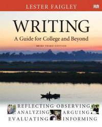 image of Writing: A Guide for College and Beyond, Brief Edition, with NEW MyCompLab with eText -- Access Card Package (3rd Edition)