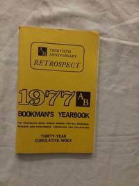 1977 AB Bookman's Yearbook; Thirty-Year Cumulative Index
