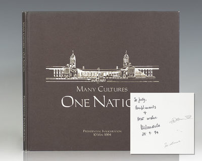 Pretoria, South Africa: Government Office, 1994. First edition of this work on the inauguration of N...