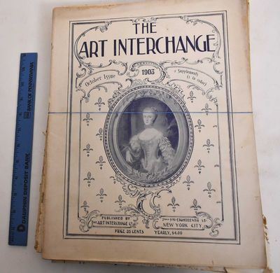 New York: The Art Interchange, 1904. Softcover. G, water damage ranging to light to moderate, some h...
