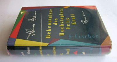 Frankfurt: S. Fischer, 1954. First Edition thus. Hardcover. Fine/Very Good +. Fine copy in a lightly...