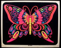"""Butterfly"" Neon Blacklight Poster, 1969"