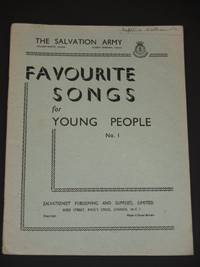 The Salvation Army: Favourite Songs for Young People No. 1
