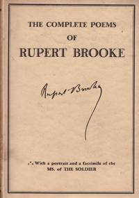 image of THE COMPLETE POEMS OF RUPERT BROOKE