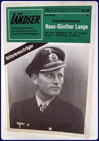 KAPITANLEUTNANT HANS-GUNTHER LANGE. Von Der Kola-Bucht Bis Zur Packeis-grenze...
