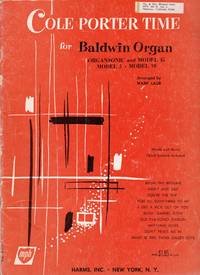 image of Cole Porter Time for Baldwin Organ