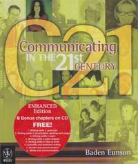C21 - Communicating in the 21st Century - Includes Brand New CD