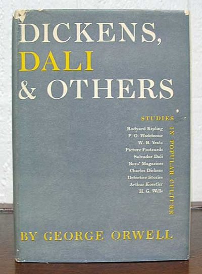charles dickens essay by george orwell On the essays shelf: a collection of essays, by george orwell orwell's essay on dickens is a monster it could be a small book dickens is one of my favorite authors, and orwell's essay is essential reading, one of the best things ever written about dickens.