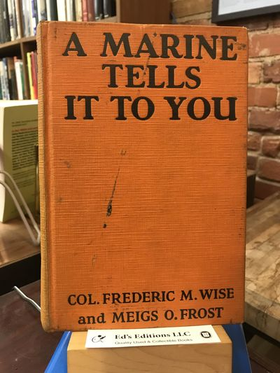 J.H. Sears and Company, 1929. First Edition. Hardcover. Good. 1929, First Edition. Orange cloth boar...