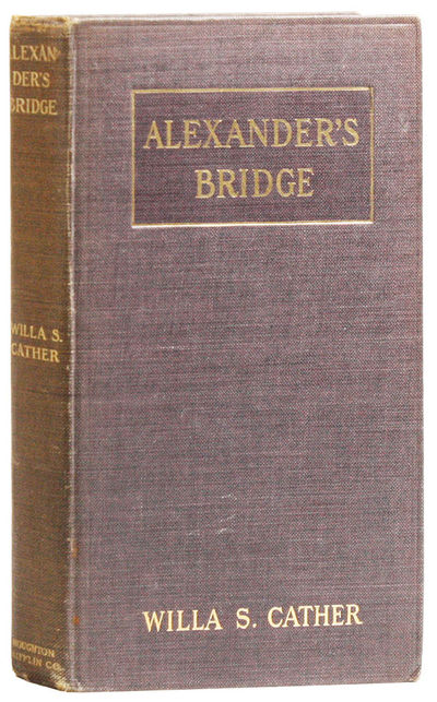 Boston: Houghton Mifflin Company, 1912. First Edition. Second issue with half title page on p. . Oct...