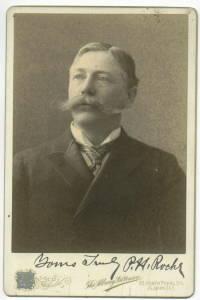 P.H. ROCHE NEW YORK REPRESENTATIVE 1897 CABINET PHOTO