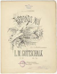 [D-131; Op. 50]. Réponds moi (Di que si) Danse Cubaine Caprice Brillant Pour le Piano à quatre mains ... Pr. 7f 50