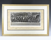 Large Photograph Signed Winston S. Churchill and Signed by 43 Other Leaders Including Anthony Eden, Jan Smuts, Lord Beaverbrook and Clement Attlee