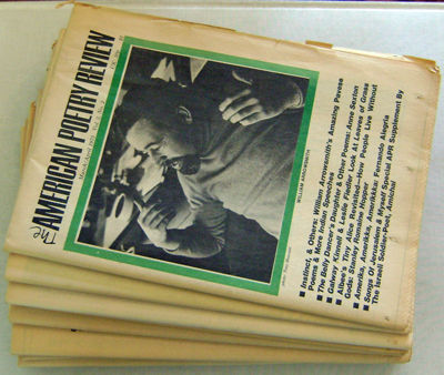 Philadelphia: American Poetry Review, 1973. First edition. Paperback. Very Good. Nice grouping of el...