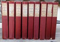 Set of Nine French Classic Novels of the 19th century
